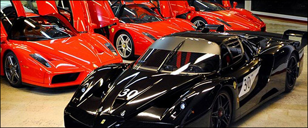 Te Koop: Ferrari FXX en Enzo van Michael Schumacher