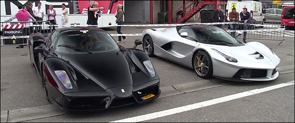 Video: Ferrari LaFerrari & Enzo gaan voluit op Spa Francorchamps
