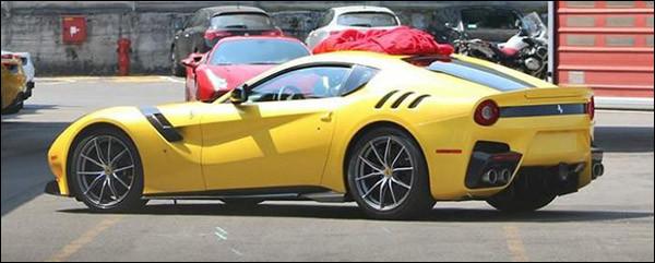 Is dit de Ferrari F12 GTO / Speciale?