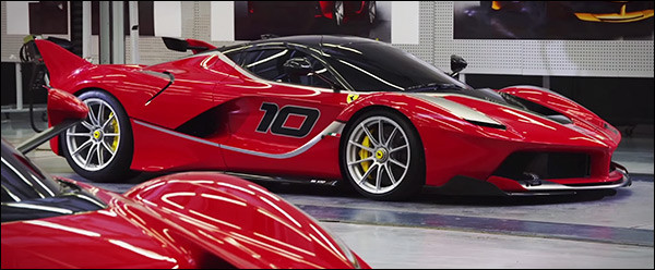 Video: Ferrari LaFerrari FXX K - making of
