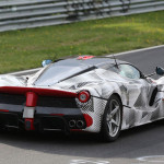 Ferrari LaFerrari doet gooi naar het Nurburgring Ringrecord