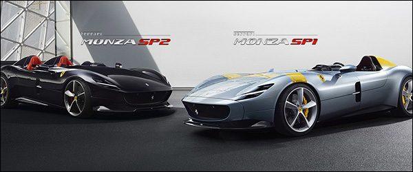 Officieel: Ferrari SP1 Monza en SP2 Monza (2018)