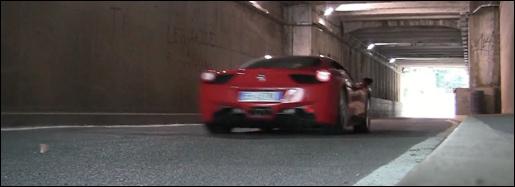 Ferrari Tunnel Video
