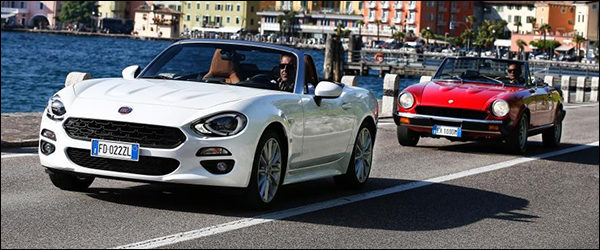 Video: Fiat 124 Spider viert Vaderdag!