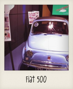 Fiat 500 2 VRAAOMM Motorvillage Paris