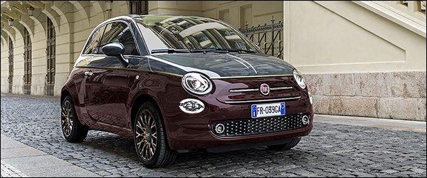 Officieel: Fiat 500 Collezione special edition (2018)