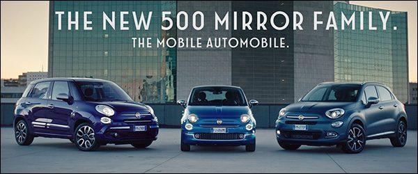 Officieel: Fiat 500 Mirror (2018)