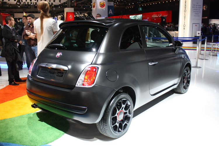 Fiat 500 blackjack fiche technique