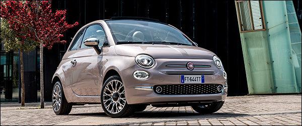 Drie miljoen Fiat 500's verkocht in Europa!