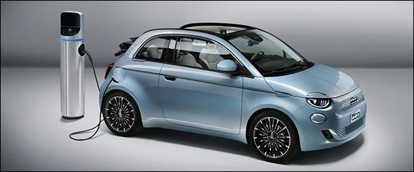 Officieel: zuiver elektrische Fiat 500 500e (2020)