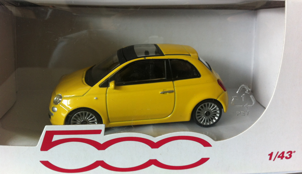 Win Een Fiat 500 Schaalmodel Groenlicht Be