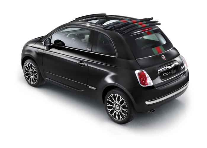 nu ook als cabrio fiat 500c by gucci. Black Bedroom Furniture Sets. Home Design Ideas