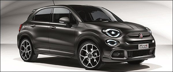 Officieel: Fiat 500X SuperSport special edition (2020)