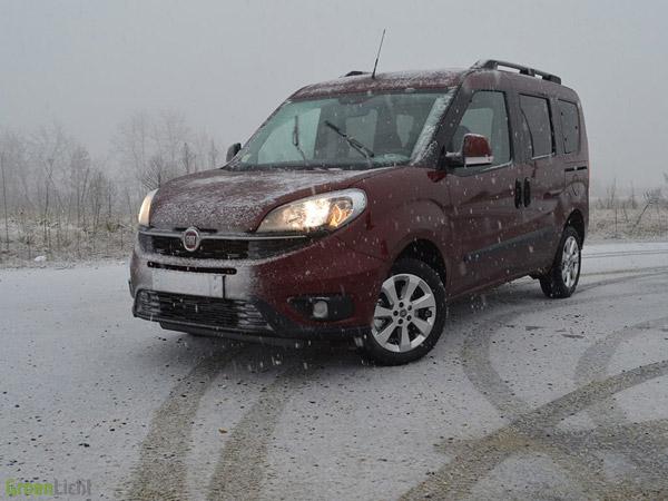 Fiat Doblo sneeuw ijs
