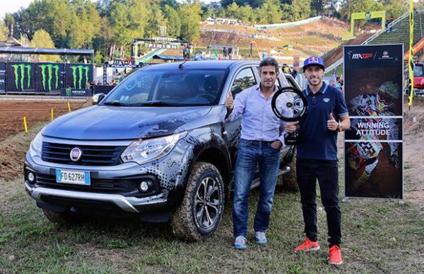 FIAT Professional gaat in zee met Antonio Cairoli