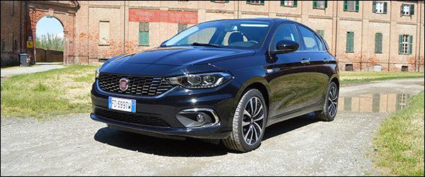 Fiat Tipo Hatchback gaat 2.0 met WiFi dankzij Orange