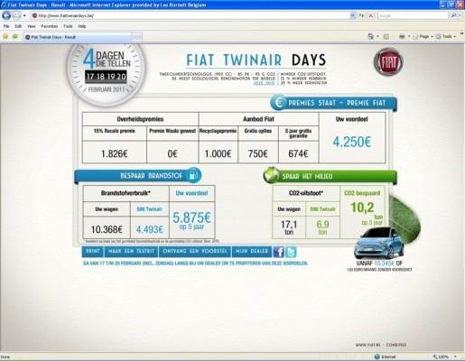 Fiat TwinAir Days