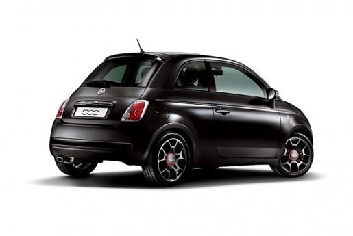 Fiat500 - Matt Black