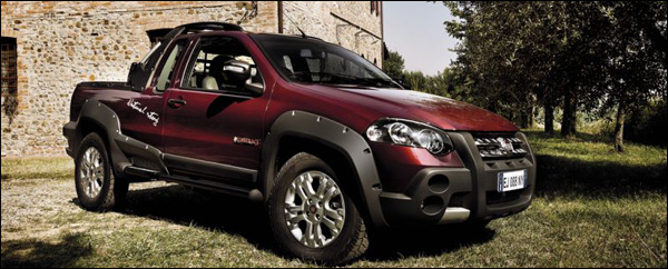 Fiat Strada Is Compacte Pick Up Truck Groenlicht Be