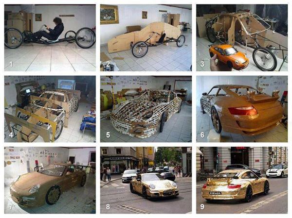 Fiets Porsche