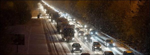 File sneeuw belgie filerecord 1.275 km