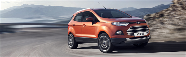 Ford EcoSport Brussel 2014