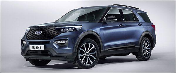 Officieel: Ford Explorer Plug-in Hybrid (2019)
