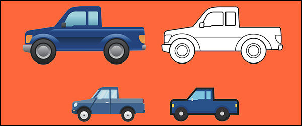 Officieel: Ford F-150 emoji (2019)