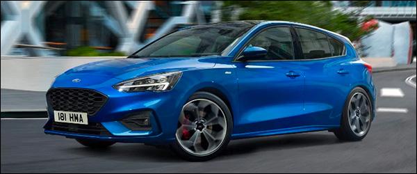 Officieel: Ford Focus 1.0 EcoBoost Hybrid (2020)