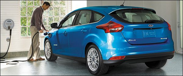 Officieel: Ford Focus Electric facelift (2017)