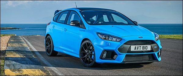 officieel ford focus rs performance pack 2017. Black Bedroom Furniture Sets. Home Design Ideas