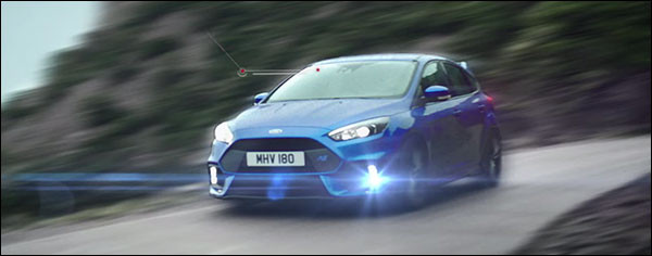 Video: Ford Focus RS scheurt door de bergen
