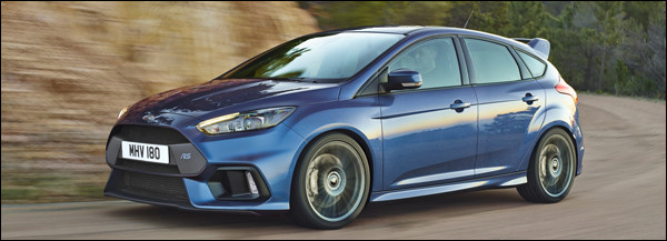 Ford Focus RS rolt exclusief op Michelin rubber