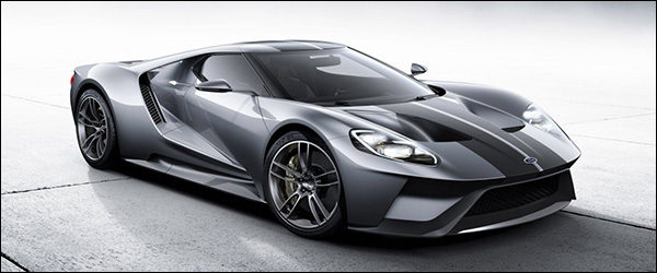 Officieel: Ford GT (2017)
