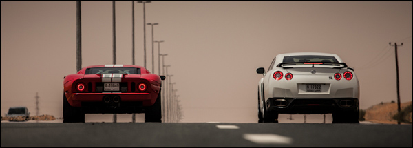 Ford GT vs Nissan GT-R
