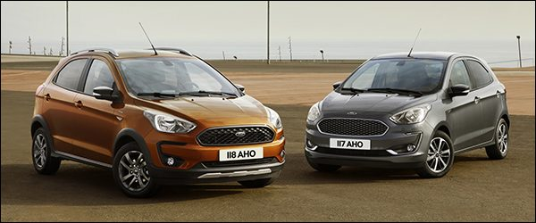Officieel: Ford Ka+ / Ka+ Active facelift (2018)