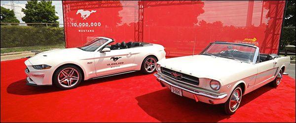 10 miljoenste Ford Mustang is een feit!