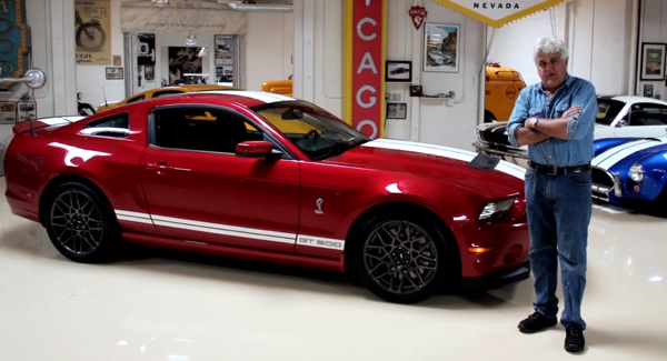 Ford Mustang Shelby Jay Leno