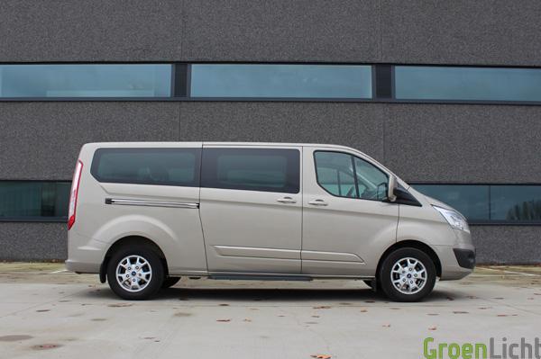 Ford Tourneo Custom 2013 Tectonic Silver 1