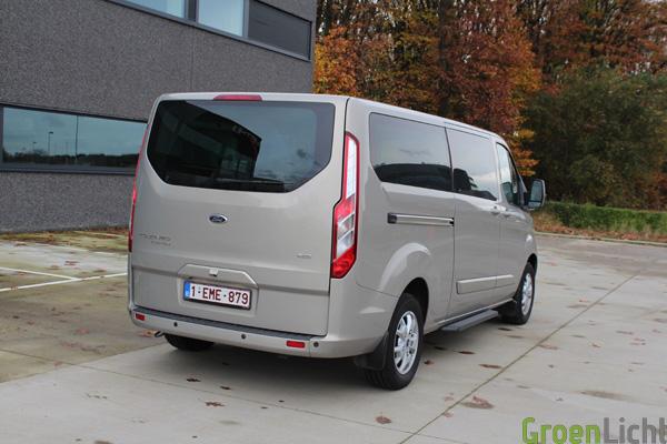 Ford Tourneo Custom 2013 Tectonic Silver 12