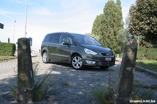 Ford Galaxy Rijtest