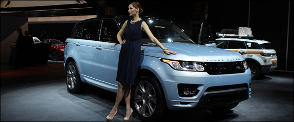 Frankfurt 2013 - Land Rover