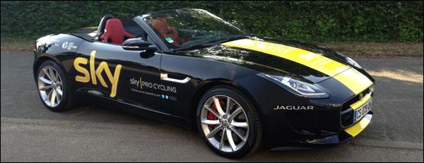 Froome Jaguar F-Type