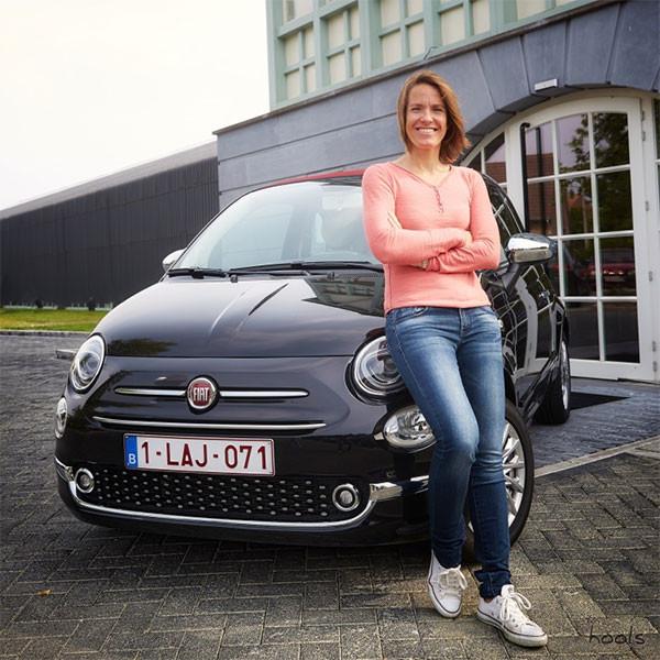 """Doe samen met Justine Henin mee aan de 1e """"Fun Rallye Fiat 500"""""""