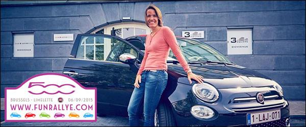 """Tweede editie """"Fun Rallye Fiat 500"""" op zondag 2 oktober 2016"""