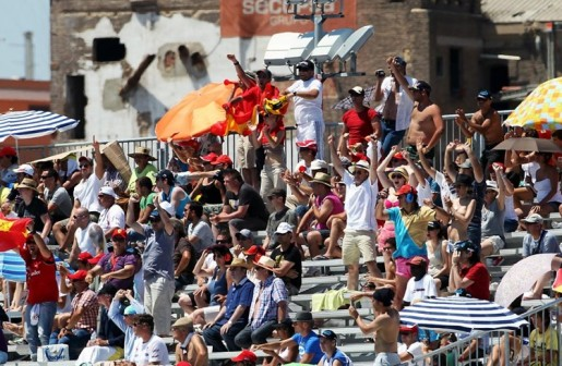 GP Europa F1 Valencia Alonso Spanish Fans