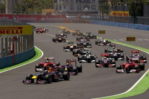 GP Europa F1 Valencia Start
