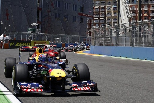 GP Europa F1 Valencia Webber Ferrari