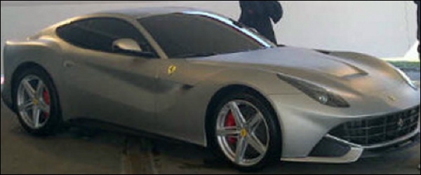 Gelekt Ferrari F620 GT 2013