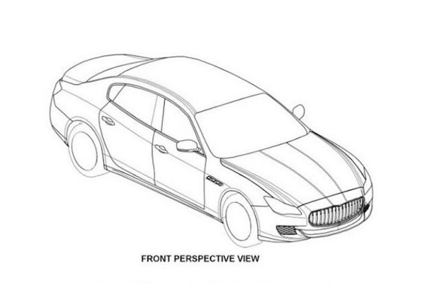 gelekt  patentfoto u0026 39 s maserati quattroporte 2014